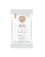 5 Sparrows Sugar Free Dark Cocoa Drink Mix.  Responsibly-sourced cocoa blended with natural sweeteners tastes like the real thing!  Makes 2, 8 oz cups of hot cocoa or use it as a creamer to sweeten your coffee.