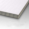 10mm Corrugated plastic sheets : 18 x 24 :10 Pack 100% Virgin White