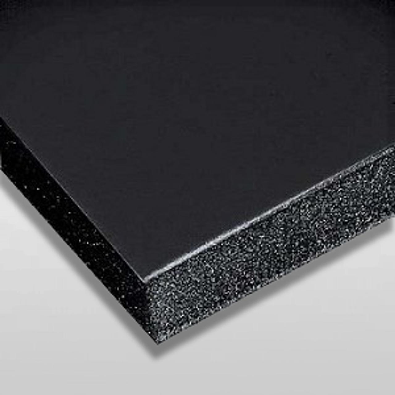 """30-4x4 Foam Core 3//16/"""" Thick  4/"""" x 4/"""" Black Foamcore Foam Board Backing"""