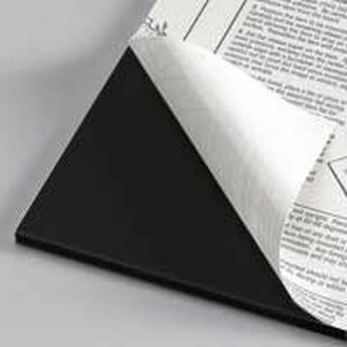 "3/16"" Black 1 Side Self Adhesive Foam Core Boards  : 40 X 60"