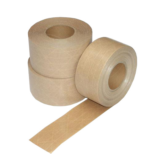 "2"" x 450'  Reinforced Kraft Paper Tape: Single Piece"