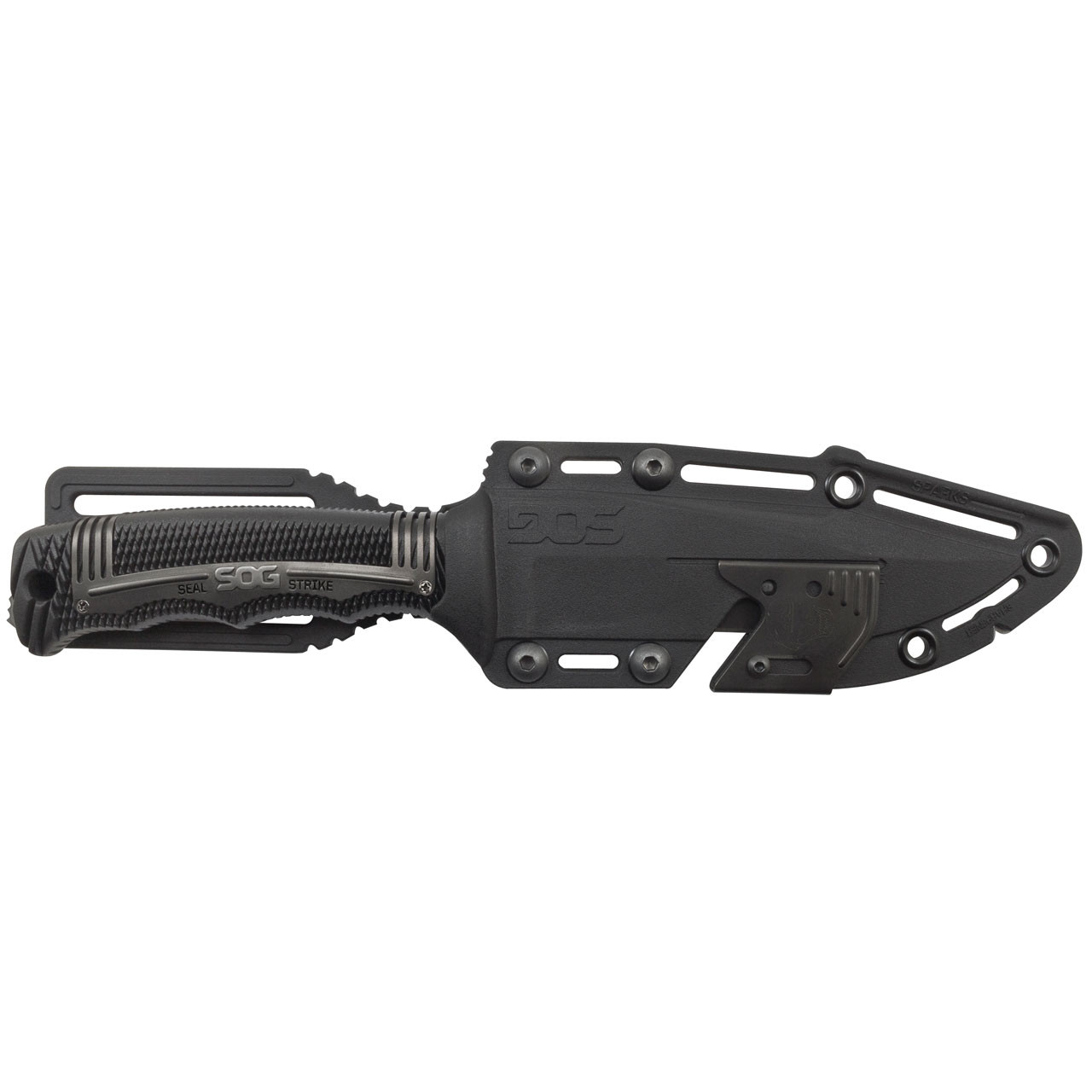 Seal Strike - Black, Sheath
