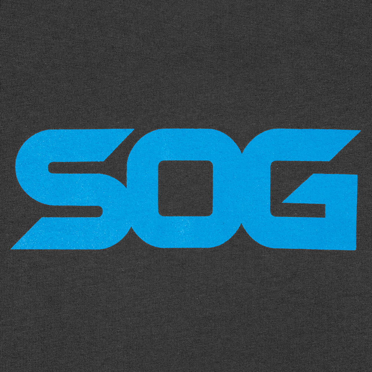 SOG T-Shirt - Dark Grey with Blue Logo