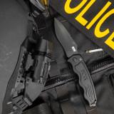 SOG-TAC Auto Tactical - Black, Drop Point