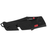 Trident AT - Black & Red, Serrated