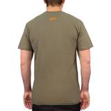 SOG T-Shirt - Green with Orange Logo