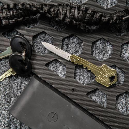 Key Knife - Brass