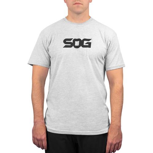 SOG T-Shirt - Light Grey with Black Logo