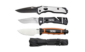 SOG Will showcase expanded product line at SHOT