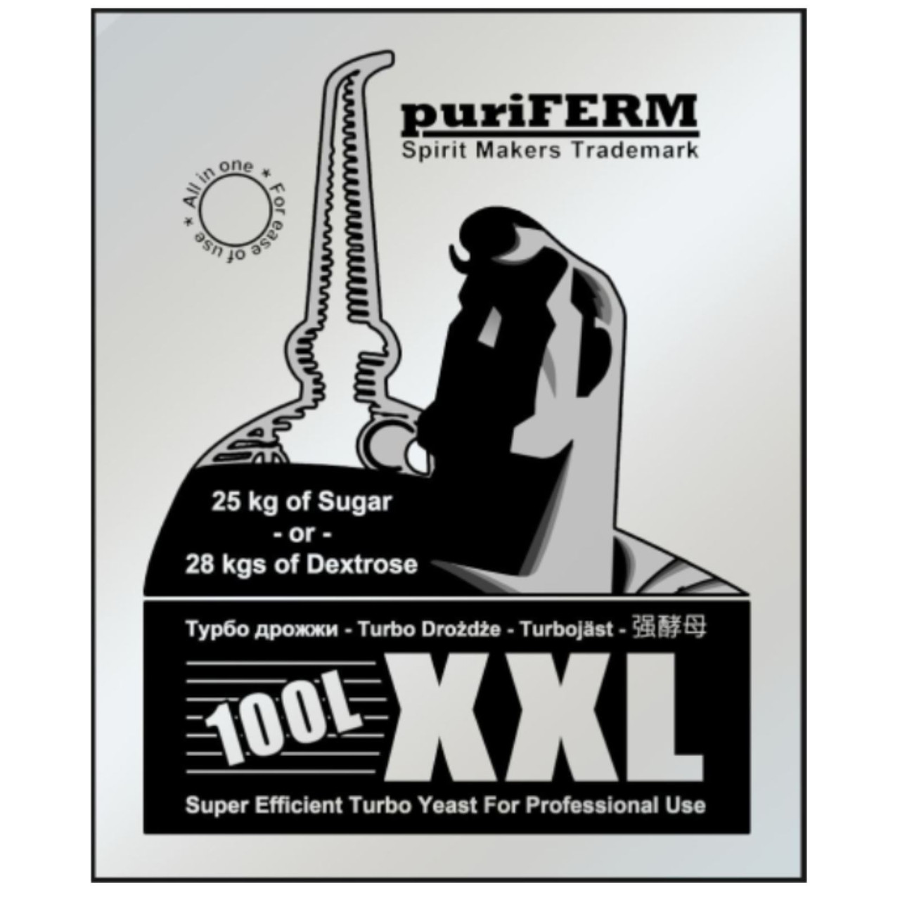 Puriferm XXL Turbo - for 100 litres