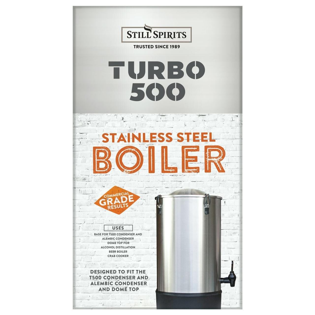 Still Spirits T500 Turbo Still 25L with Stainless Steel Condenser