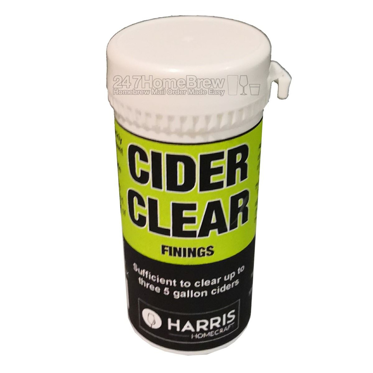 Harris Cider Clear Finings treats 69L (three 5 gallon batches)
