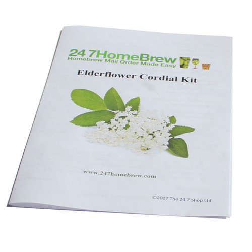 Elderflower Cordial Kit