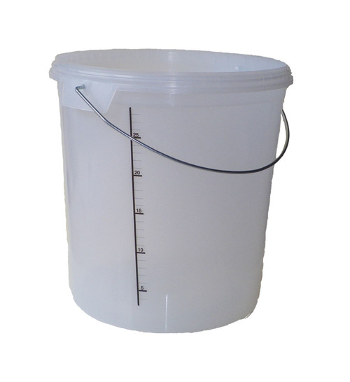 30L Fermenter Bucket with Lid