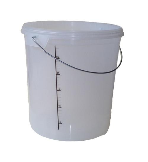 30L Fermenter Bucket with Lid