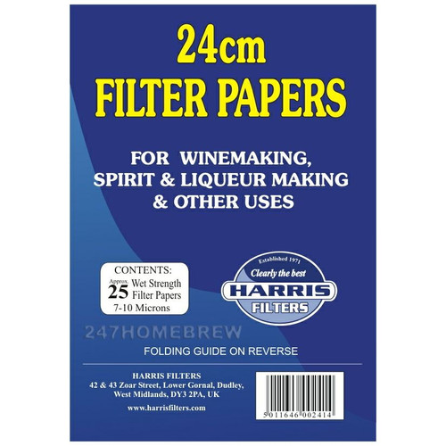 Harris VinPapers 24cm Wine Filter Papers