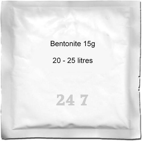 Bentonite 15g (25L)