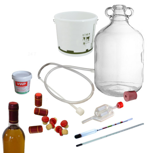 Traditional Mead Honey Wine Making Kit