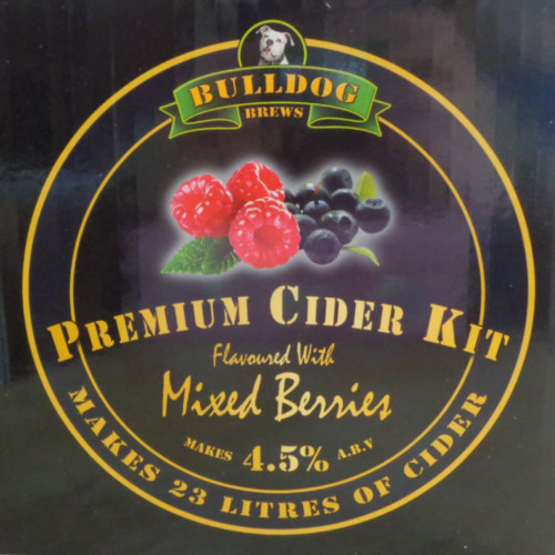 Bulldog Brews Mixed Berries Cider Kit
