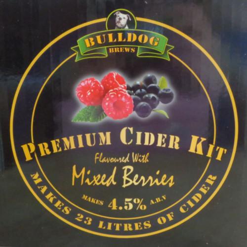 Bulldog Brews Mixed Berries Cider Kit
