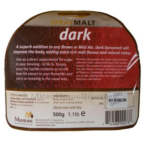Muntons Spraymalt DARK 500g