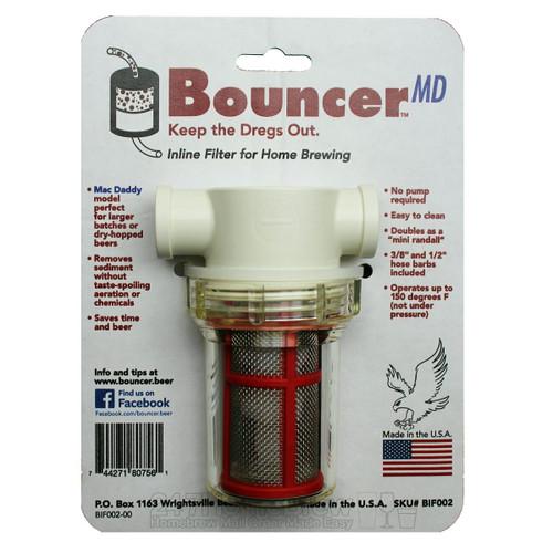 Bouncer Mac Daddy Inline Beer Filter 1/2 & 3/8 barbs