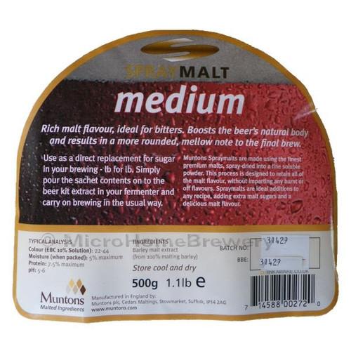 Muntons Spraymalt MEDIUM 500g