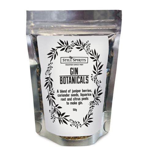 Still Spirits Gin Botanicals London Dry Gin Making Ingredients 50g