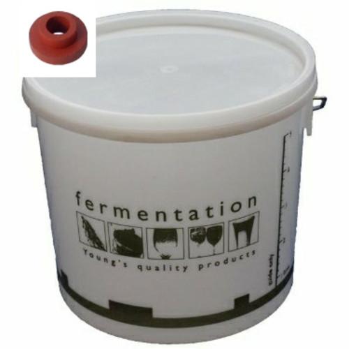 10 Litre Fermentation Vessel Bucket