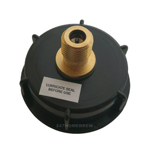 Pressure Barrel/Keg with Pin Valve Cap for 8g bulbs - 23L/5Gal