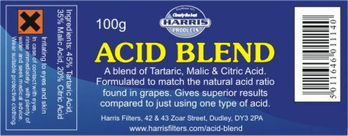 Harris Pre-Mixed Acid Blend 100g