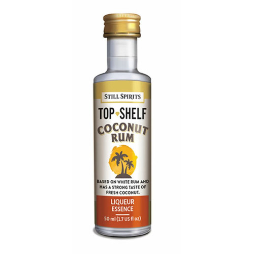 Top Shelf Coconut Rum with Base B