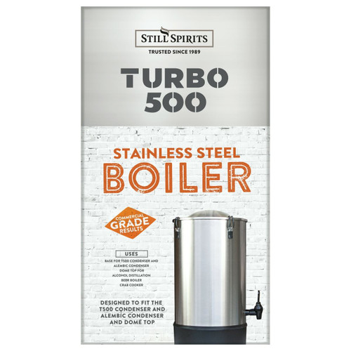 Still Spirits 25L Turbo 500 Boiler (UK 2KW, 240V)