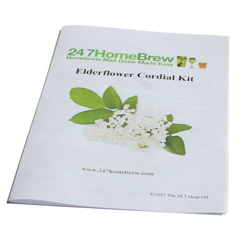 Elderflower Cordial Making Instructions