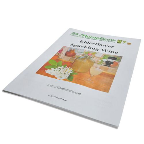 Elderflower Sparkling Wine Champagne Kit Instructions