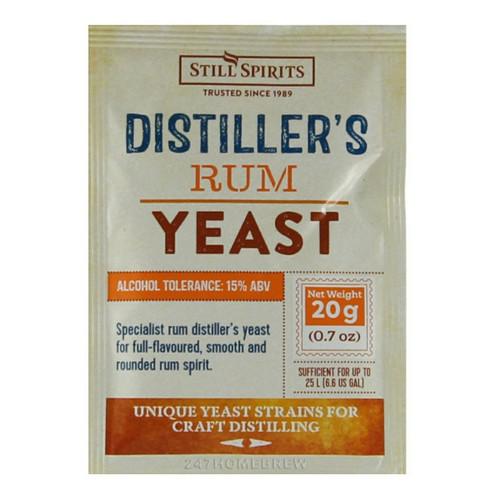 Still Spirits Distillers Rum Yeast 20g for 25L 15% ABV