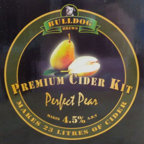 Bulldog Brews Perfect Pear Cider Kit Perry 3kgs makes 23L 40 pints