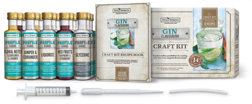 Still Spirits Gin Craft Profile Kit Premium Flavouring Notes Additives