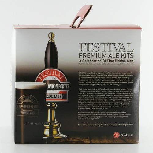 Festival Premium Ale Pride Of London Porter 3.6kg Liquid Malt Extract