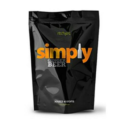 Simply Ginger Beer Kit Refill 1.8kg makes 23L 40 Pints