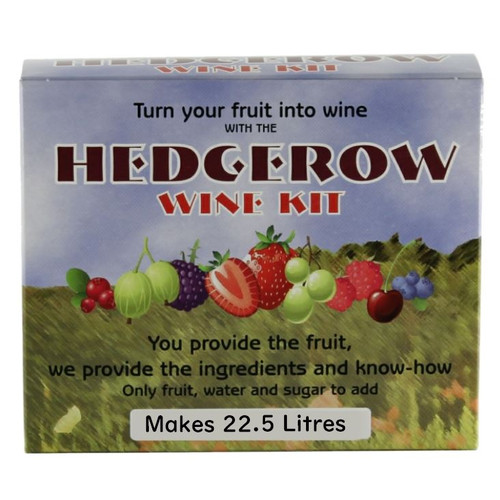 Hedgerow Fruit Wine and Liqueurs Kit 22.5L All Ingredients Plus 18 Recipes
