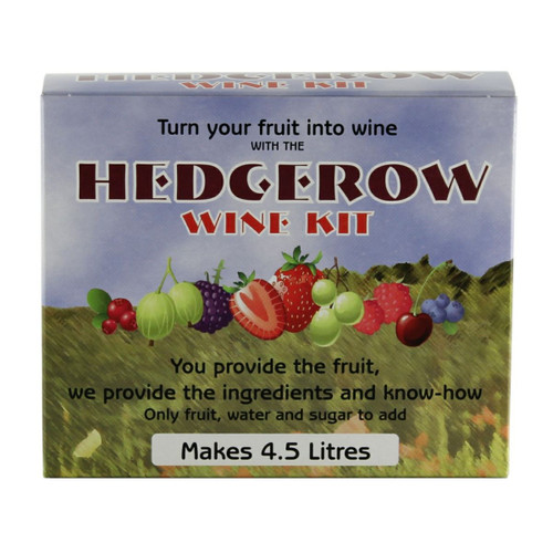 Hedgerow Fruit Wine and Liqueurs Kit 4.5L All Ingredients Plus 18 Recipes