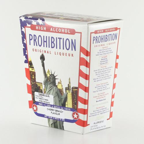 Prohibition Cherry Brandy High Alcohol Liqueur Kit makes 4.5L 21% ABV