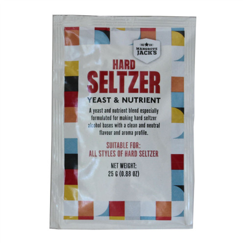 Mangrove Jacks Hard Seltzer Yeast and Nutrient Spritzer 25g for 20L 5%ABV