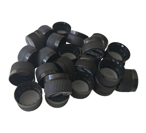 Screw Caps for Plastic PET Bottles 24 pack with Tamper Seal Colours vary