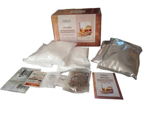Still Spirits Artisan Whiskey Ingredients Kit Homebrew Mash Kit for Distilling