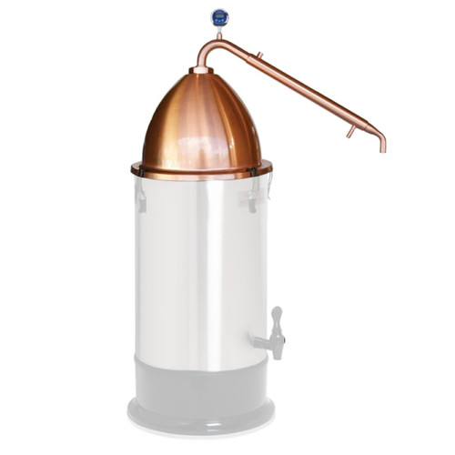 Still Spirits Alembic Copper Dome Top and Copper Condensor T500