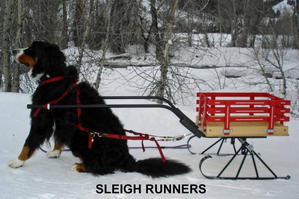 Metal sleigh runners