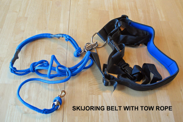 "4"" Skijoring Belt with Towrope"