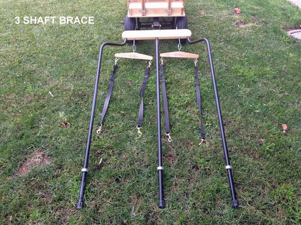 Three Shaft Brace for Wagons